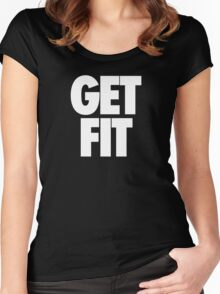 GET FIT - Alternate Women's Fitted Scoop T-Shirt