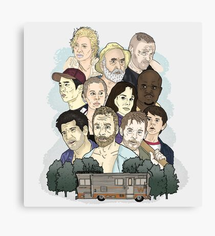 The Walking Dead / Season One Canvas Print