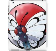 butterfree pokeball - pokemon iPad Case/Skin