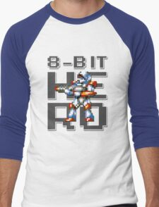 Turrican - 8-Bit Hero Men's Baseball ¾ T-Shirt