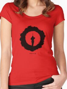 The Revenge of Shinobi Women's Fitted Scoop T-Shirt
