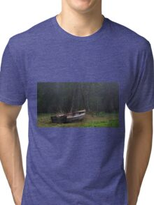 Old boat Tri-blend T-Shirt