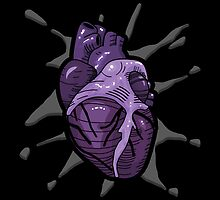 Goth Tattoo Heart by SquareDog
