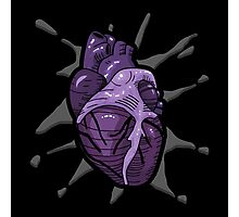 Goth Tattoo Heart Photographic Print