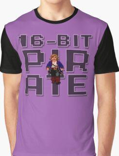Guybrush - 16-Bit Pirate Graphic T-Shirt
