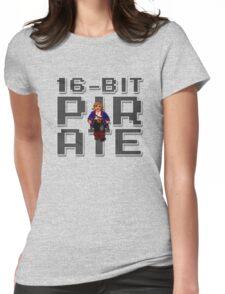 Guybrush - 16-Bit Pirate Womens Fitted T-Shirt