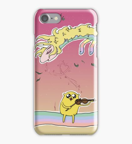 Romantic Jake and Lady Rainicorn iPhone Case/Skin