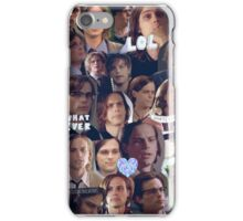 Spencer Reid Collage iPhone Case/Skin