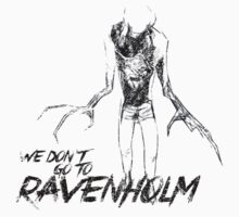 We Don't Go To Ravenholm (Dark) Kids Tee