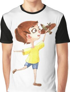 Little pilot Graphic T-Shirt