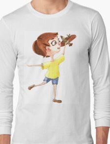Little pilot Long Sleeve T-Shirt