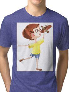 Little pilot Tri-blend T-Shirt
