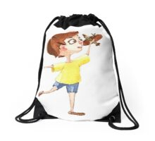Little pilot Drawstring Bag