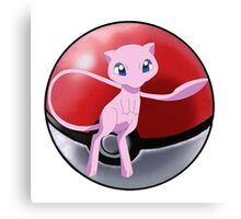 Legendary pokeball - pokemon Canvas Print