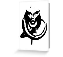 Bib Fortuna Greeting Card