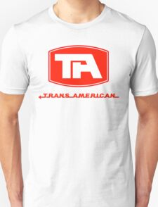 Trans American Airlines (Red Text) T-Shirt