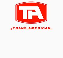 Trans American Airlines (Red Text) Unisex T-Shirt