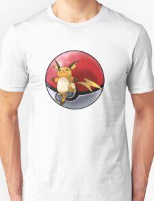 raichu pokeball - pokemon T-Shirt