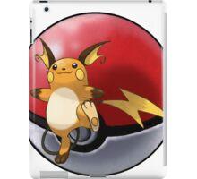 raichu pokeball - pokemon iPad Case/Skin