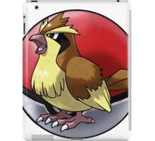 pidgey pokeball - pokemon iPad Case/Skin