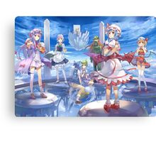 All Your Favorite Anime Girls Canvas Print