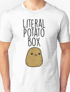 Literal Potato Box Unisex T-Shirt