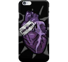 Goth Razor Heart iPhone Case/Skin
