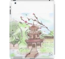 Asian pagoda (A) iPad Case/Skin