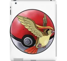 pidgeot pokeball - pokemon iPad Case/Skin