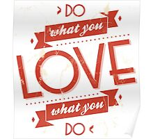 Poster of do what you love Poster