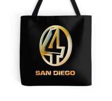 Channel 4 San Diego (Gold) Tote Bag