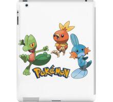 pokemon characters 003 iPad Case/Skin