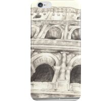 Colosseo - Sketch iPhone Case/Skin