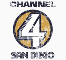 Channel 4 San Diego Kids Tee