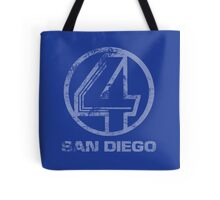 Channel 4 San Diego (Faded & Distressed) Tote Bag