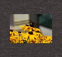 Bee on Rudbeckia Flowers Zipped Hoodie