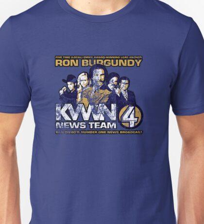News Team 4 (Distressed) Unisex T-Shirt