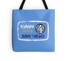 KVWN News 4 San Diego (Distressed) Tote Bag