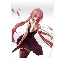 Yuno Gasai Coming To Get You Poster