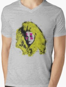 Claudia Schiffer - top model - pop icon Mens V-Neck T-Shirt