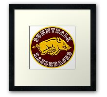 Buffy-Sunnydale  Razorbacks Framed Print