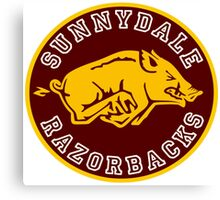 Buffy-Sunnydale  Razorbacks Canvas Print
