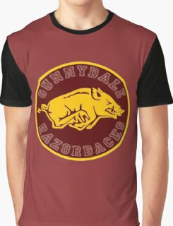 Buffy-Sunnydale  Razorbacks Graphic T-Shirt