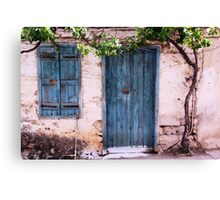 Forsaken House II Canvas Print