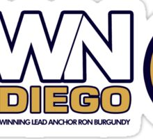 KVWN San Diego (Outlined) Sticker