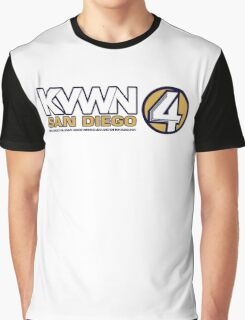 KVWN San Diego (Outlined) Graphic T-Shirt