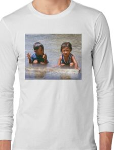 The Fish was This Big! Long Sleeve T-Shirt
