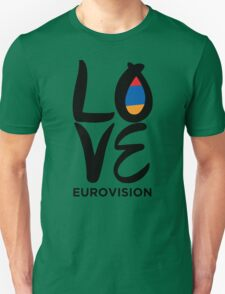 LOVE Eurovision [Armenia] T-Shirt