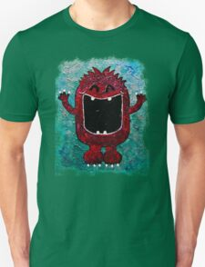 red monster rough edges T-Shirt