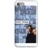 Spencer x JJ|| Dont touch iPhone Case/Skin